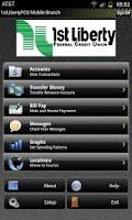 Screenshot of 1st Liberty Credit Union