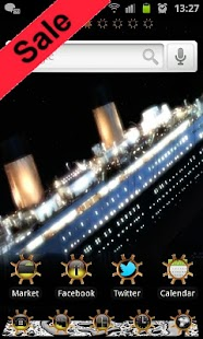 Titanic GO Launcher EX Theme - screenshot thumbnail