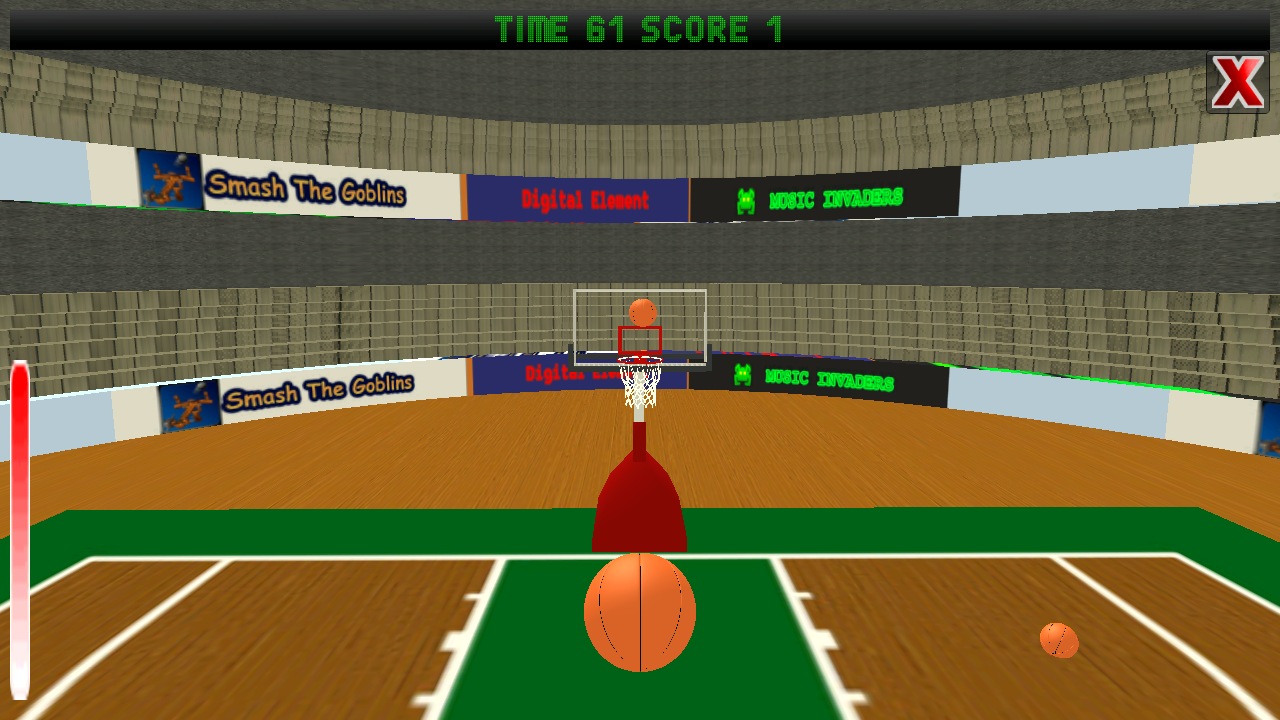 Real basketball shots ads android apps on google play - Basketball waste paper basket ...