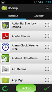 Application Manager screenshot 1