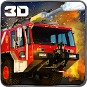911 Rescue Fire Truck 3D Sim icon