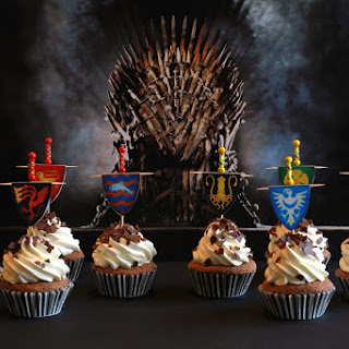 Game of Thrones Cupcakes.