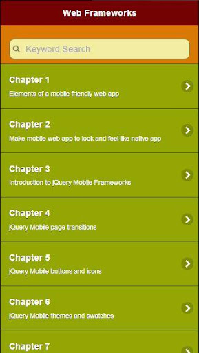 C308 jQuery Mobile Ref. Guide