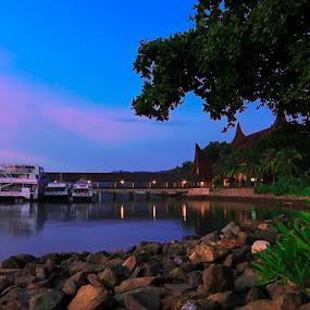 MARINA WATERFRONT CITY by Andi Setiawan - Landscapes Beaches