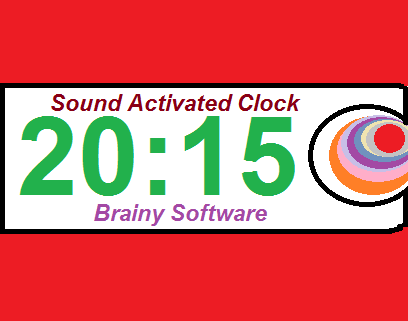 Sound Activated Clock- screenshot