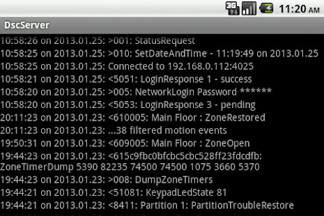 DSC Security Server - náhled