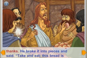Screenshot of Story of Easter StoryChimes
