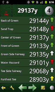 GolfCard GPS - screenshot thumbnail