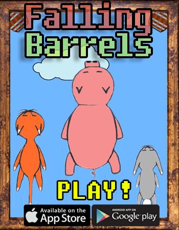 Falling Barrels