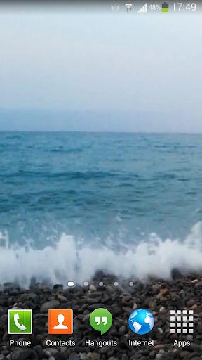 【免費個人化App】Ocean Waves Live Wallpaper 54-APP點子