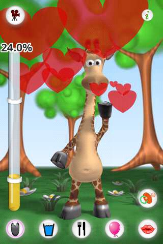 Talking Gina the Giraffe Free - screenshot