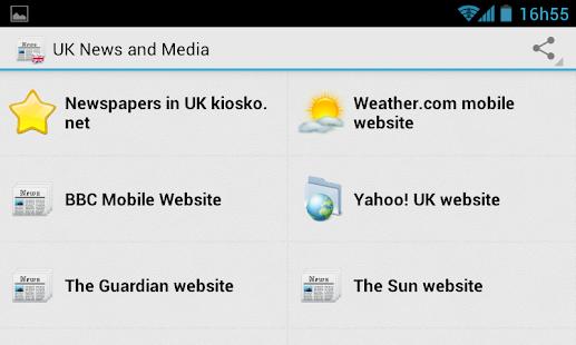 UK News, Sports and Media - náhled