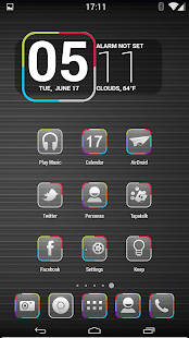 Neo Glow - Icon Pack HD 8 in 1 - screenshot thumbnail