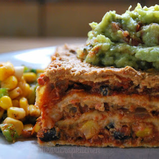 Chili Tortilla Lasagna [Vegan]