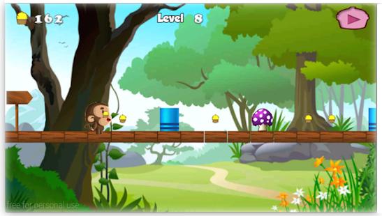 Gioco scimmia banana