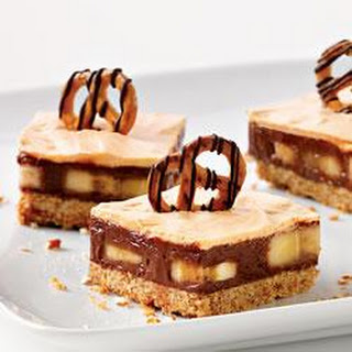 Chocolate, Peanut Butter and Pretzel Bars