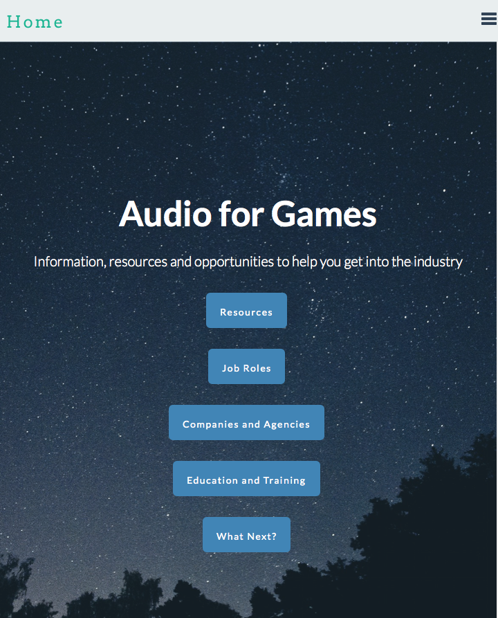 Get Into: Audio for Games- screenshot