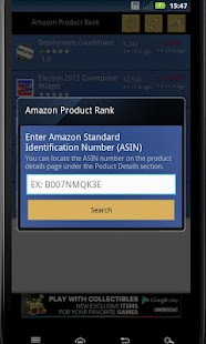 Amazon Product Rank - screenshot thumbnail