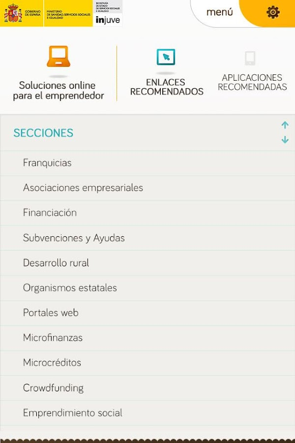 Emprendemos - screenshot