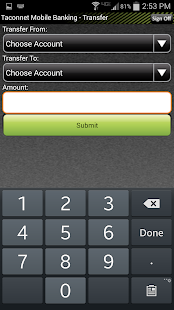Taconnet FCU Mobile Banking- screenshot thumbnail