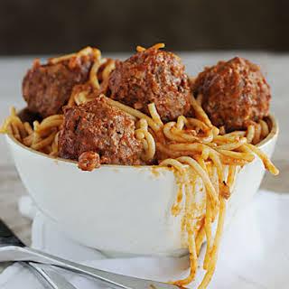 Mom's Spaghetti and Meatballs.