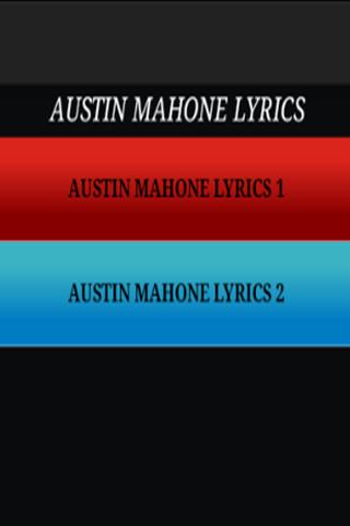 Austin Mahone-Just The Lyrics