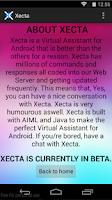 Screenshot of Xecta - (Siri for Android)