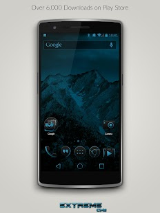 JB Extreme Theme CM11 CM12 - screenshot thumbnail