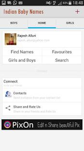 Indian Baby Names - screenshot thumbnail