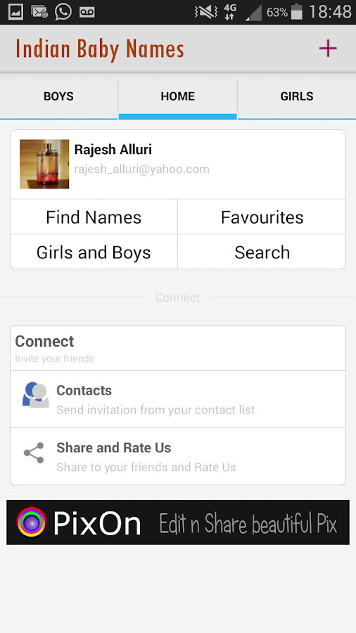 Indian Baby Names - screenshot
