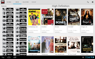 Screenshot of Movies