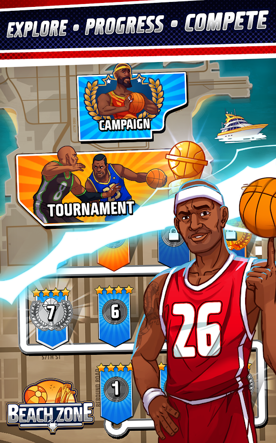 Rival Stars Basketball- screenshot