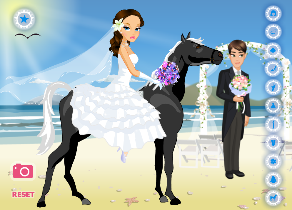 Wild Wild Wedding - Dress Up - screenshot