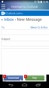 Hotmail to Outlook APK for iPhone
