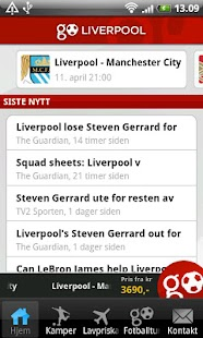 GoLiverpool - screenshot thumbnail