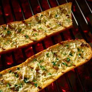 Grilled Cheesy Garlic Bread.