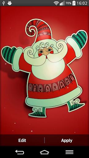 聖誕老人动态壁纸