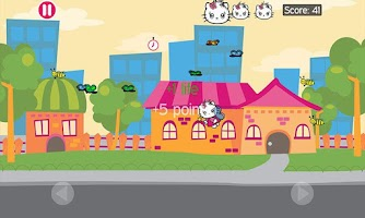 Screenshot of Tap Jump Kitty