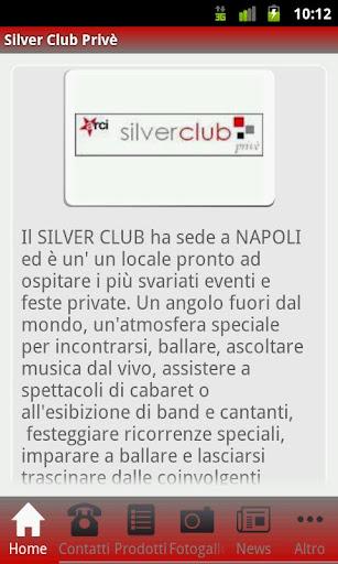 Silver Club Privè