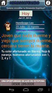 Horoscopeando el Refranero - screenshot thumbnail