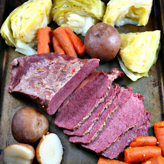 Corned Beef and Cabbage Slow Cooker.