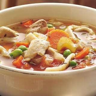 Grandma's Slow-Cooker Chicken Noodle Soup.