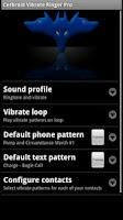 Screenshot of Cerbroid Vibrate Ringer Pro