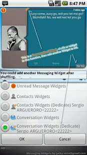 Messaging Widgets - screenshot thumbnail