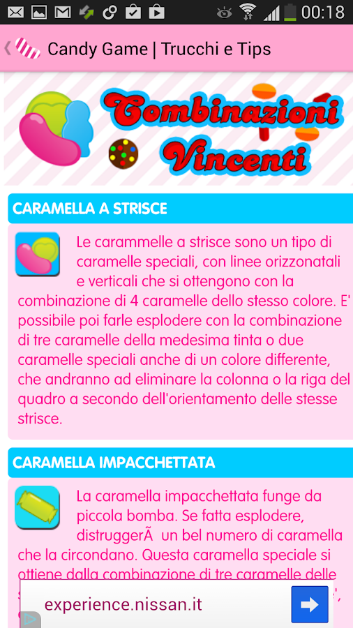 Candy Crush Saga Trucchi Dolci - screenshot