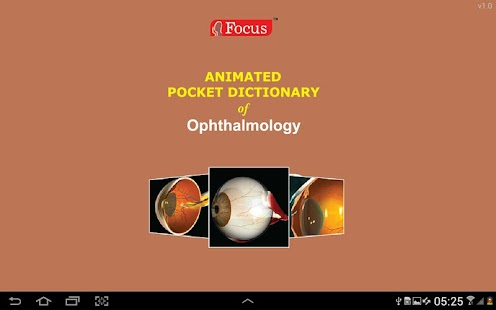 Ophthalmology -Pocket Dict. screenshot for Android