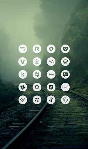 Light Void - Minimalist Icons