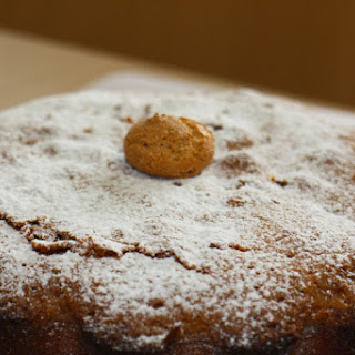 Amazing Cake with Amaretti Biscuits.