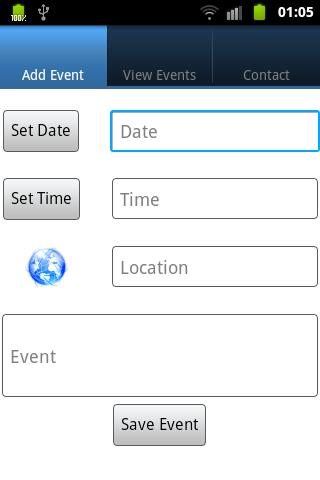 myCalendar App