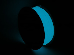 Blue Glow in the Dark PLA Filament - 3.00mm